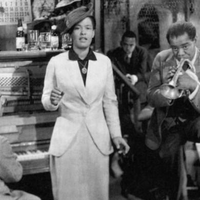 """Fotogramma del film """"La città del Jazz"""", A. Lubin, 1947"""