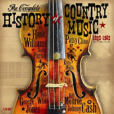 AA.VV., The Complete History Of Country Music 1923 – 1962