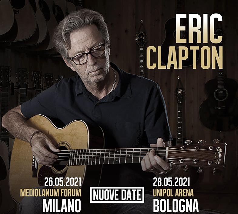 Eric Clapton Deutschland 2021